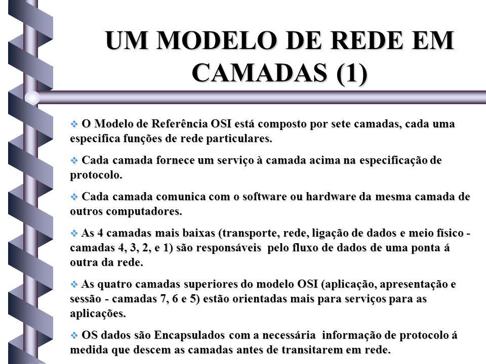 UM MODELO DE REDE EM CAMADAS (1)