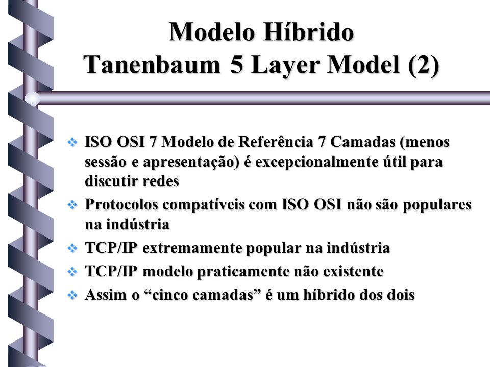 Modelo Híbrido Tanenbaum 5 Layer Model (2)
