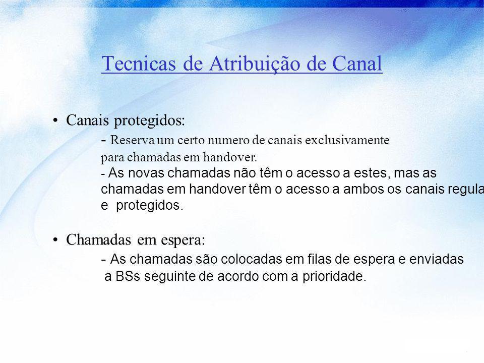 Tecnicas de Atribuição de Canal