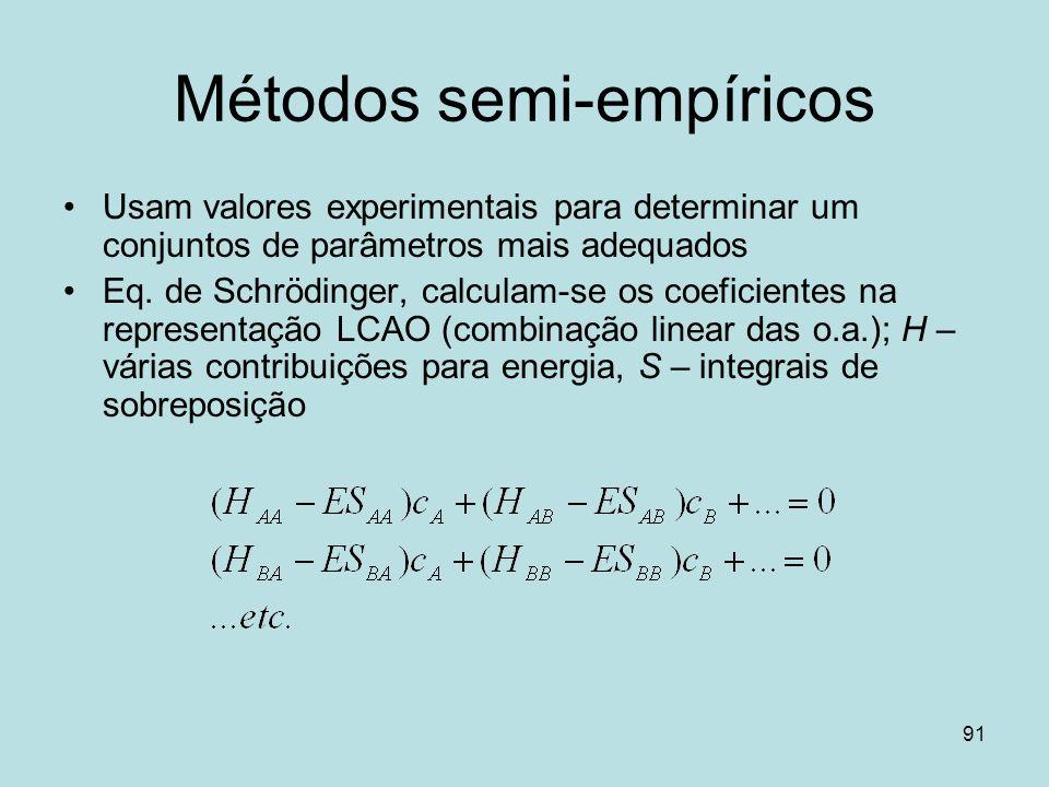 Métodos semi-empíricos