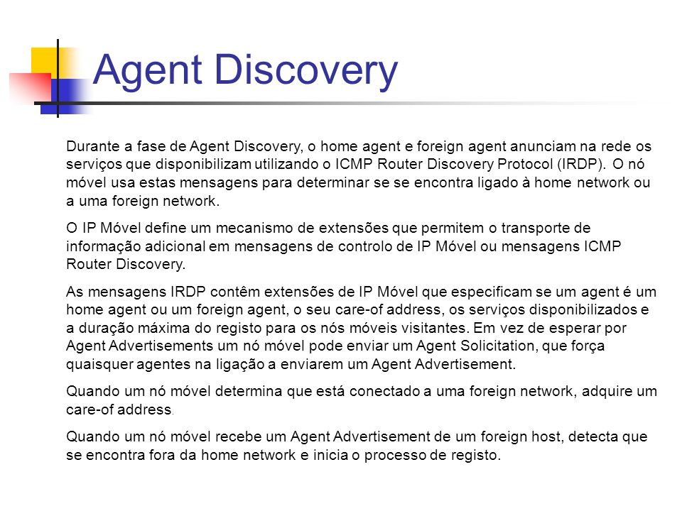 Agent Discovery
