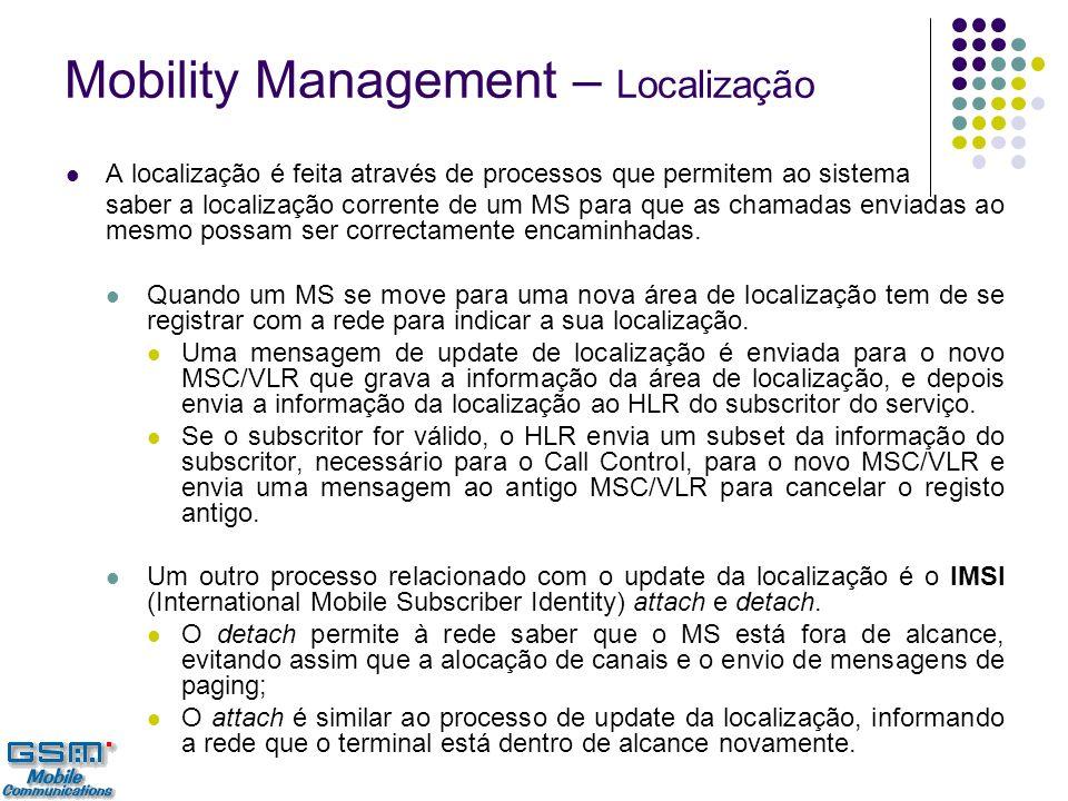 Mobility Management – Localização
