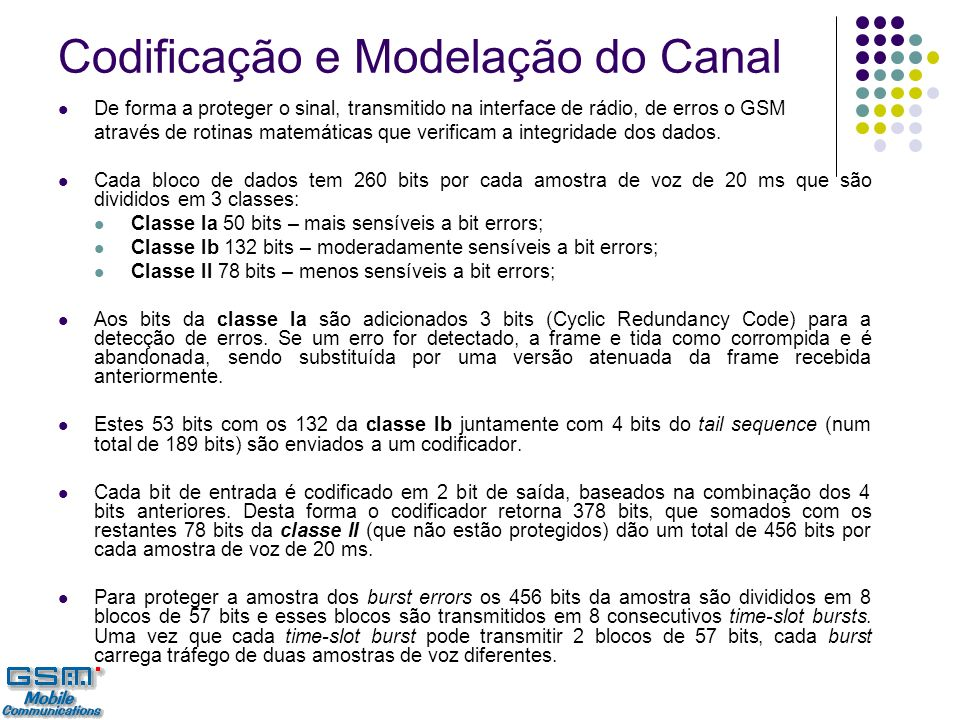 Codificação e Modelação do Canal