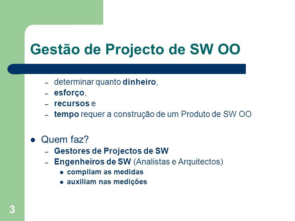 Gestão de Projecto de SW OO