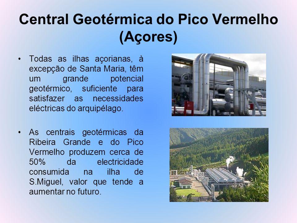 Central Geotérmica do Pico Vermelho (Açores)