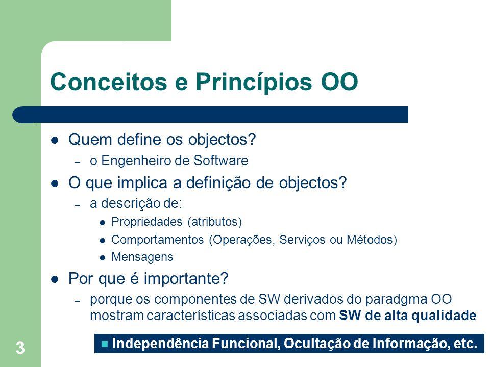 Conceitos e Princípios OO