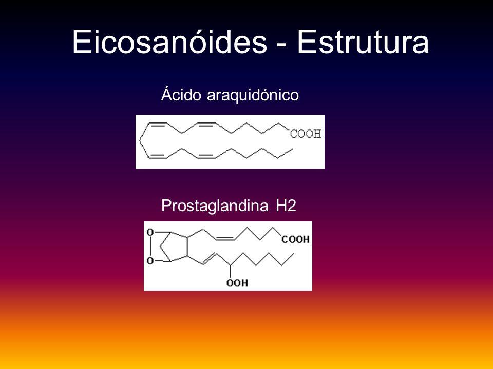 Eicosanóides - Estrutura