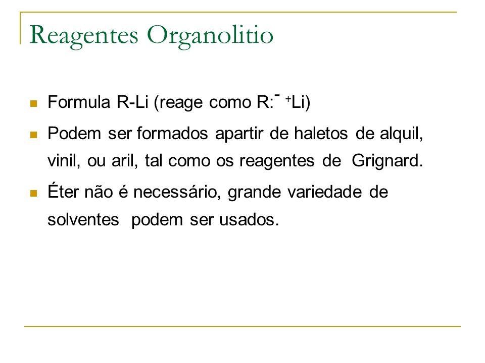 Reagentes Organolitio