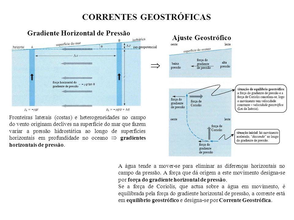 CORRENTES GEOSTRÓFICAS
