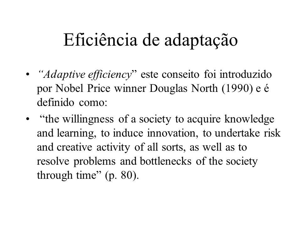 Eficiência de adaptação