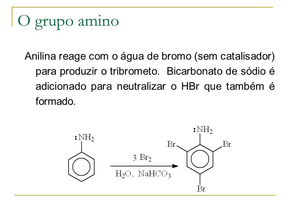 O grupo amino
