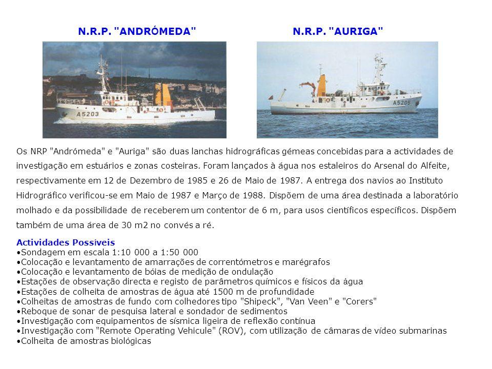 N.R.P. ANDRÓMEDA N.R.P. AURIGA