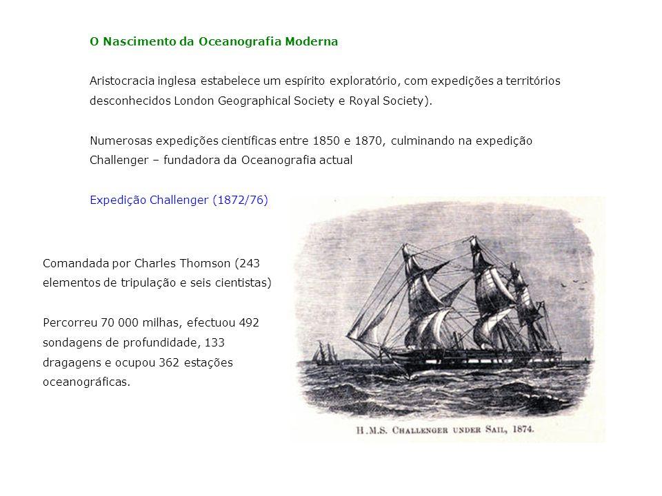 O Nascimento da Oceanografia Moderna