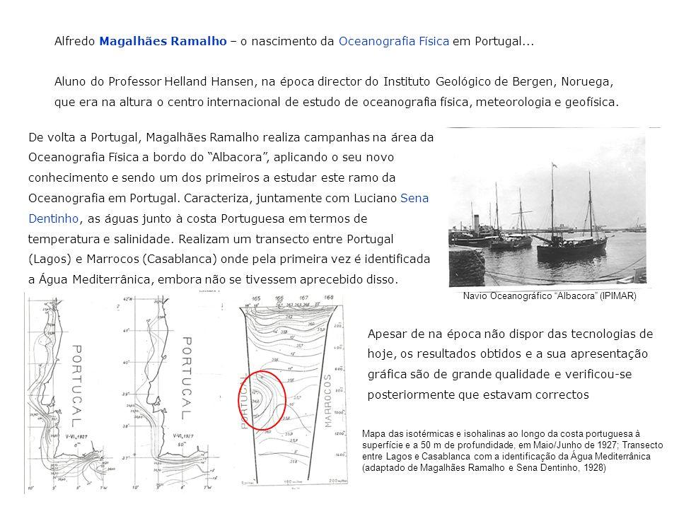 Alfredo Magalhães Ramalho – o nascimento da Oceanografia Física em Portugal...