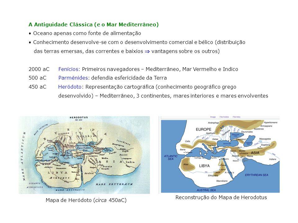 Mapa de Heródoto (circa 450aC)