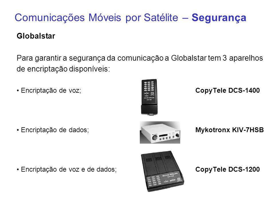 Comunicações Móveis por Satélite – Segurança