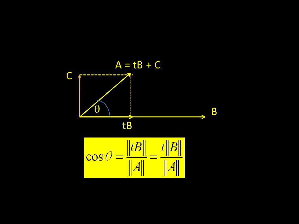 A = tB + C C  B tB