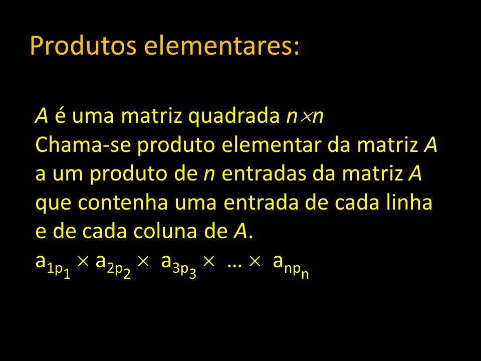 Produtos elementares: