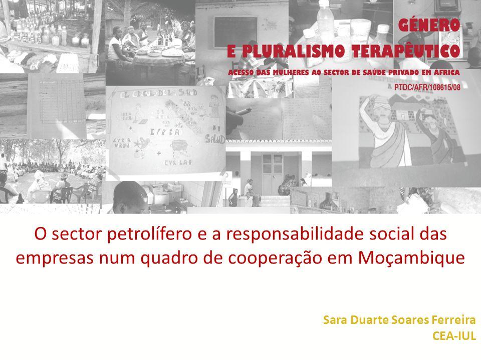 O sector petrolífero e a responsabilidade social das