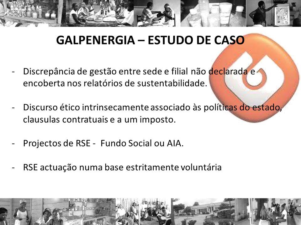 GALPENERGIA – ESTUDO DE CASO