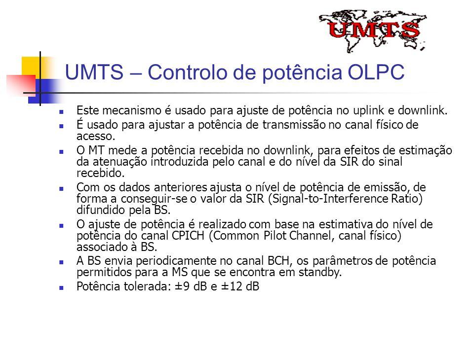 UMTS – Controlo de potência OLPC