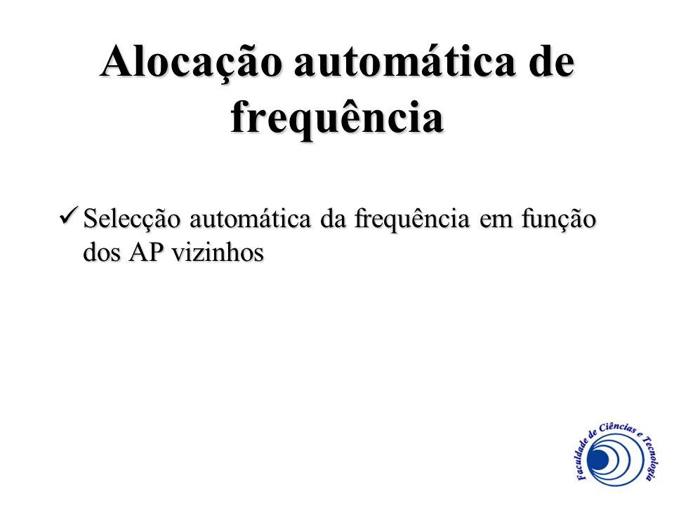 Alocação automática de frequência