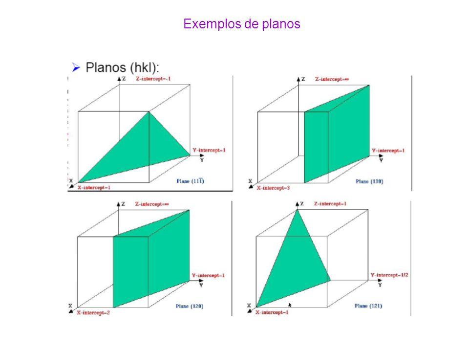 Exemplos de planos