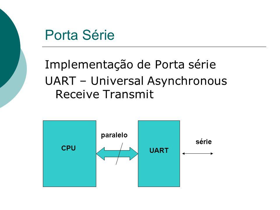 Porta Série Implementação de Porta série
