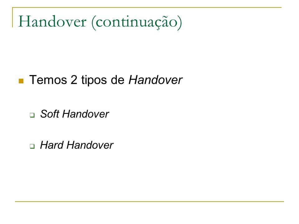 Handover (continuação)