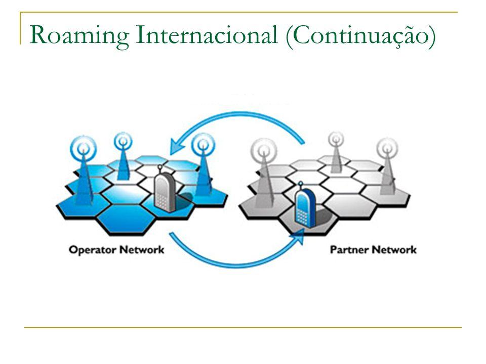 Roaming Internacional (Continuação)