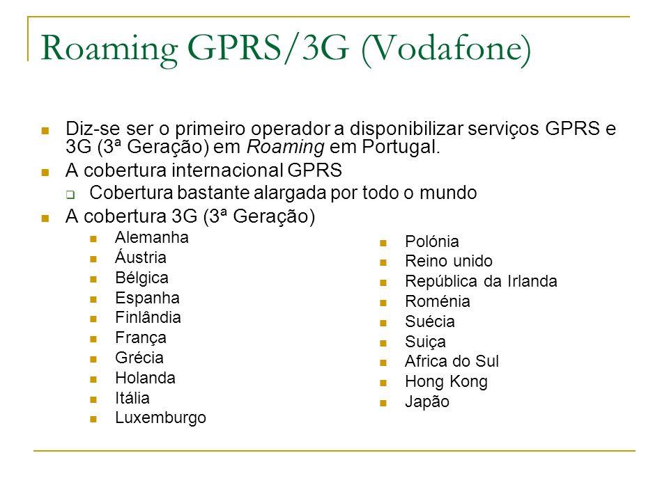 Roaming GPRS/3G (Vodafone)