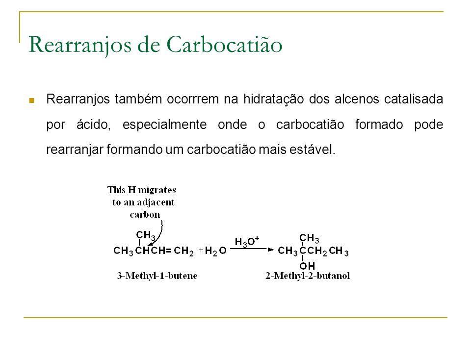 Rearranjos de Carbocatião