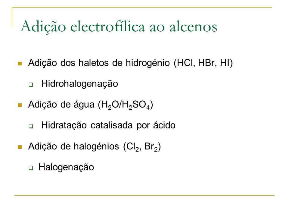 Adição electrofílica ao alcenos