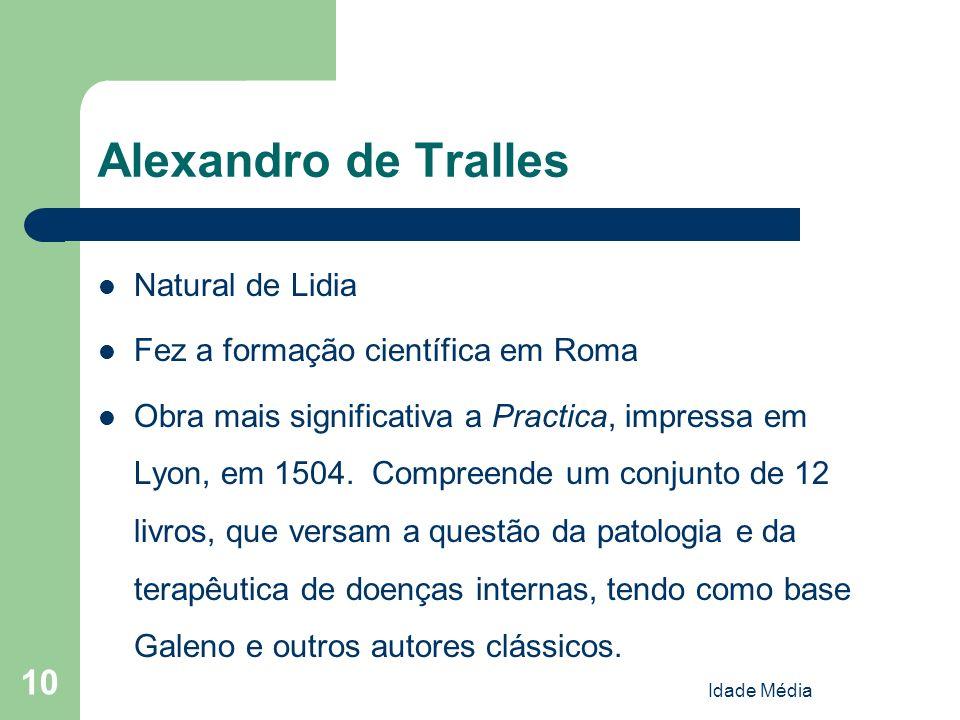 Alexandro de Tralles Natural de Lidia