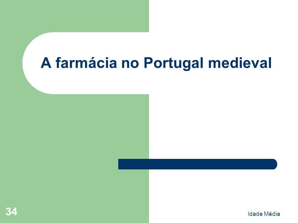 A farmácia no Portugal medieval