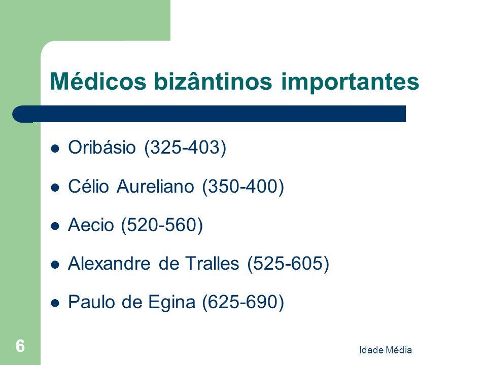 Médicos bizântinos importantes