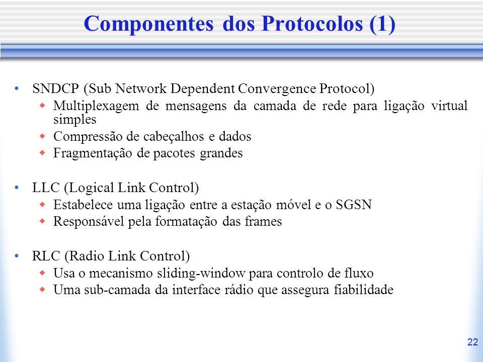 Componentes dos Protocolos (1)