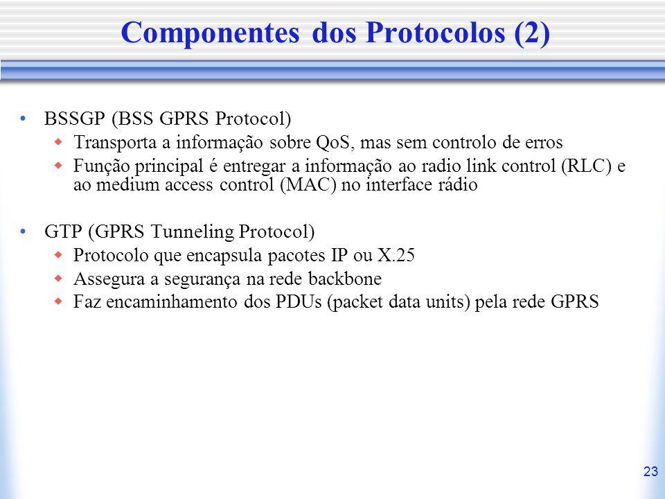 Componentes dos Protocolos (2)