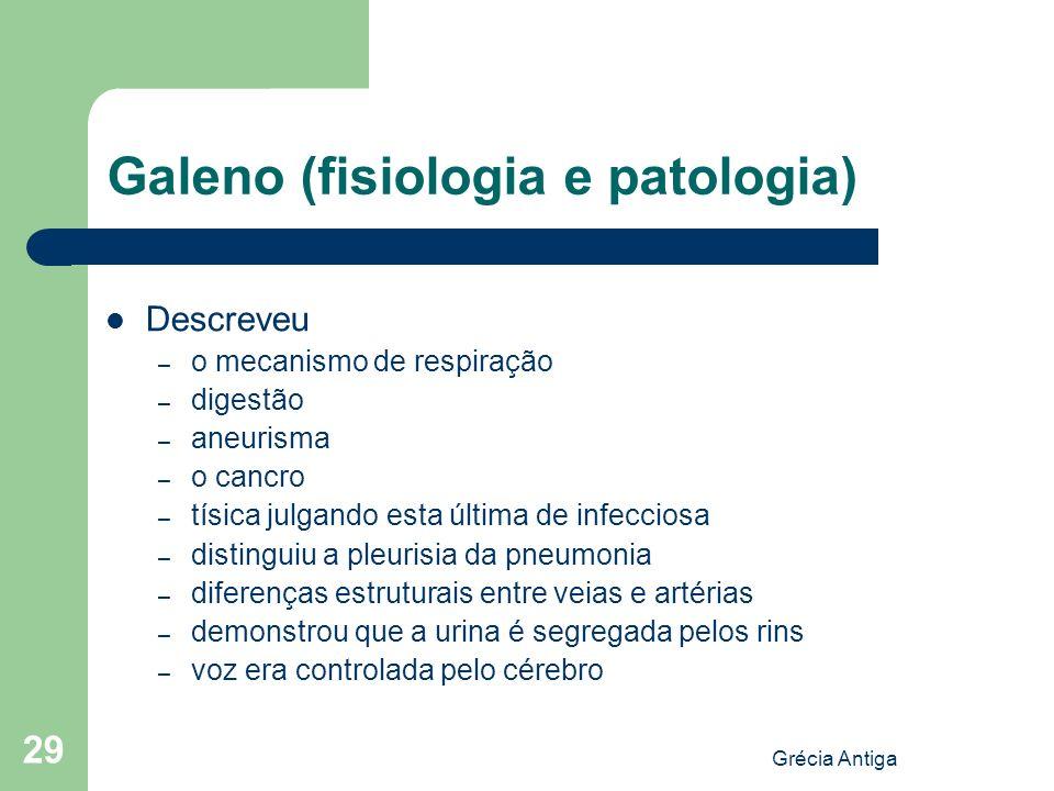 Galeno (fisiologia e patologia)