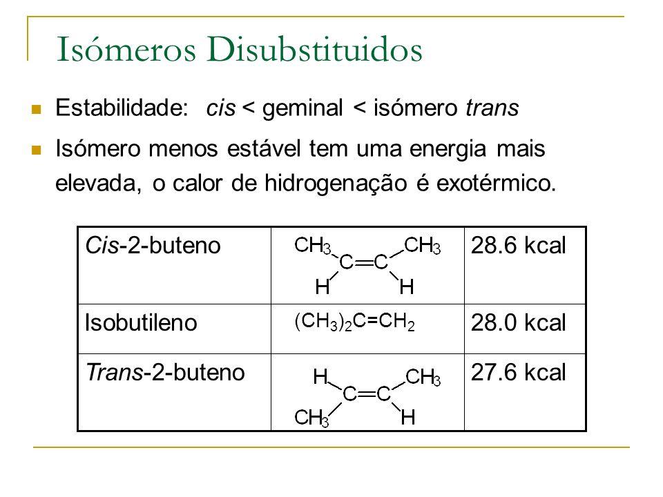 Isómeros Disubstituidos
