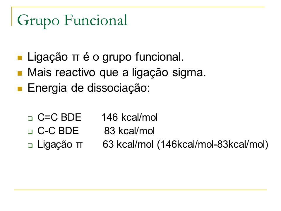 Grupo Funcional Ligação π é o grupo funcional.