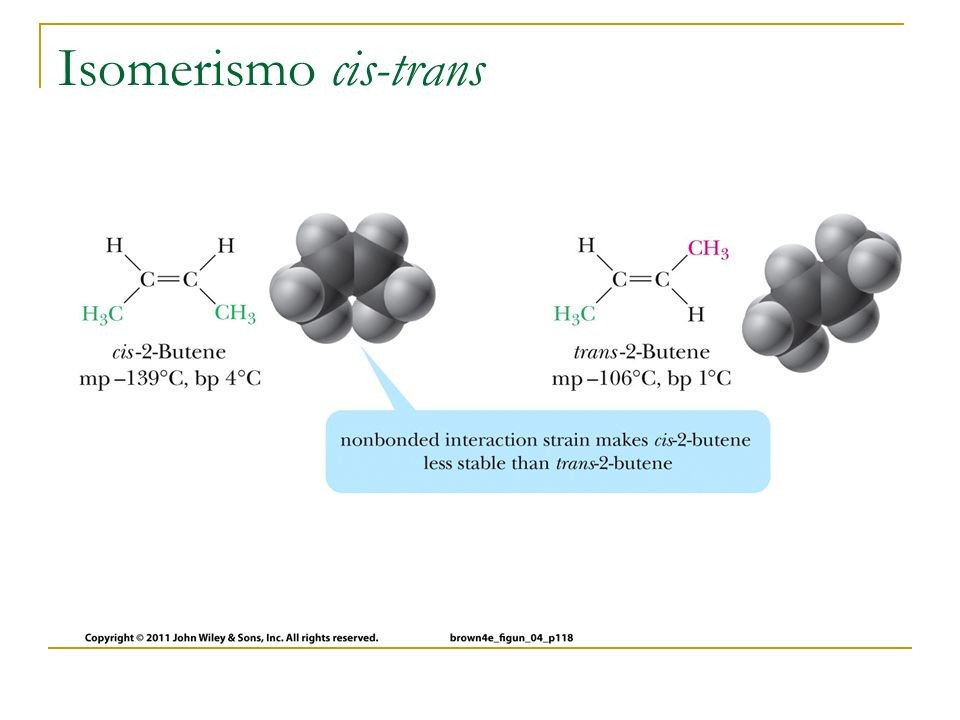 Isomerismo cis-trans