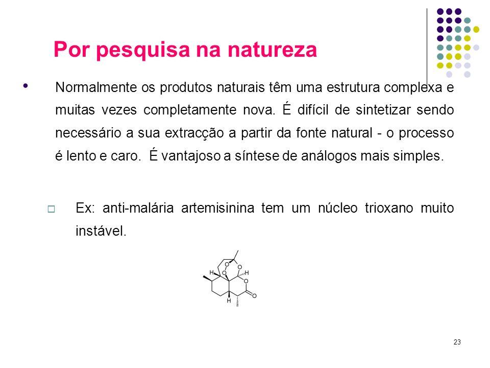 Por pesquisa na natureza