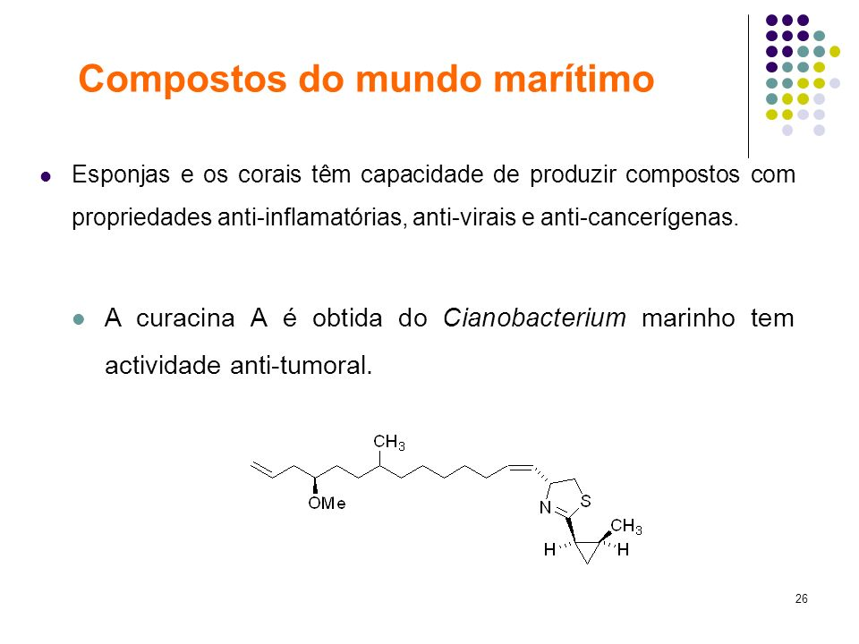 Compostos do mundo marítimo