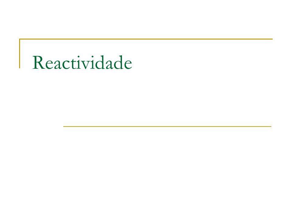 Reactividade