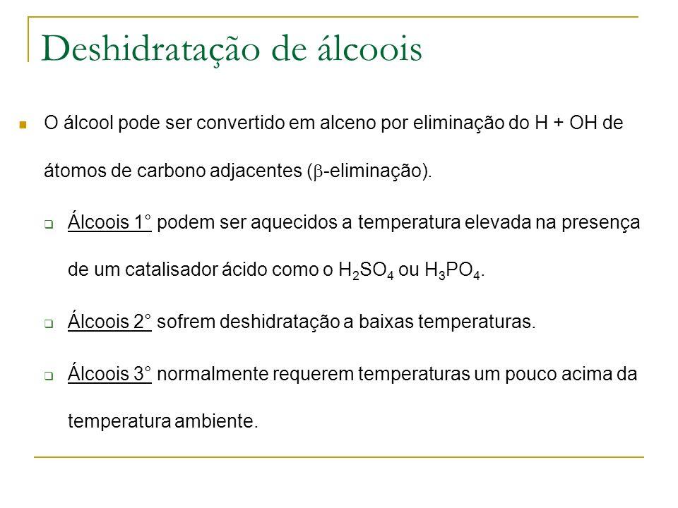 Deshidratação de álcoois