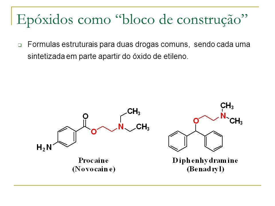 Epóxidos como bloco de construção