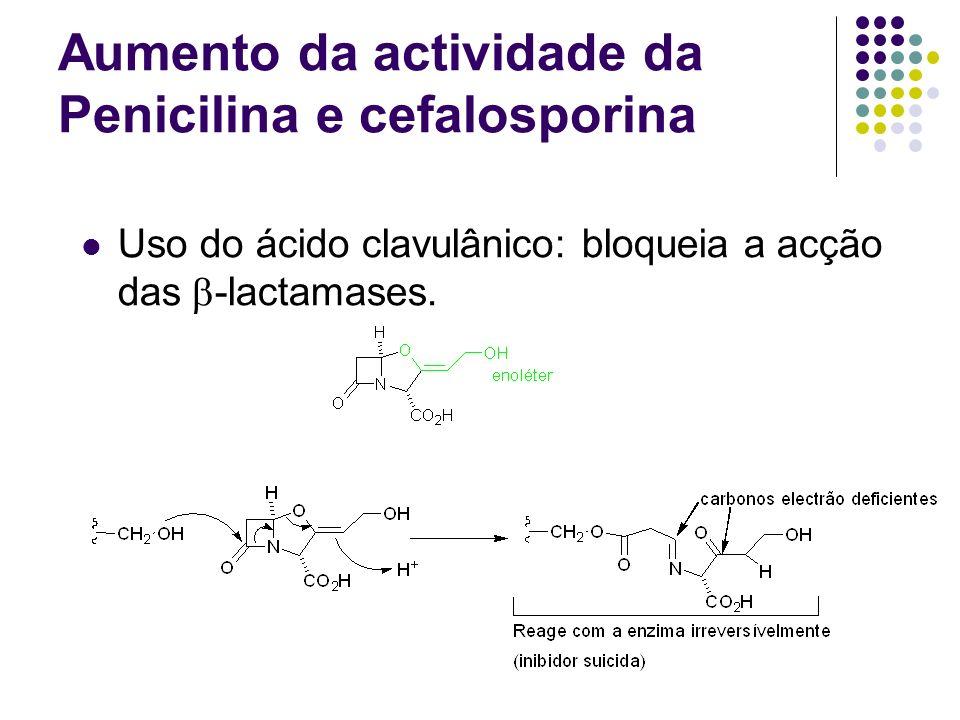 Aumento da actividade da Penicilina e cefalosporina