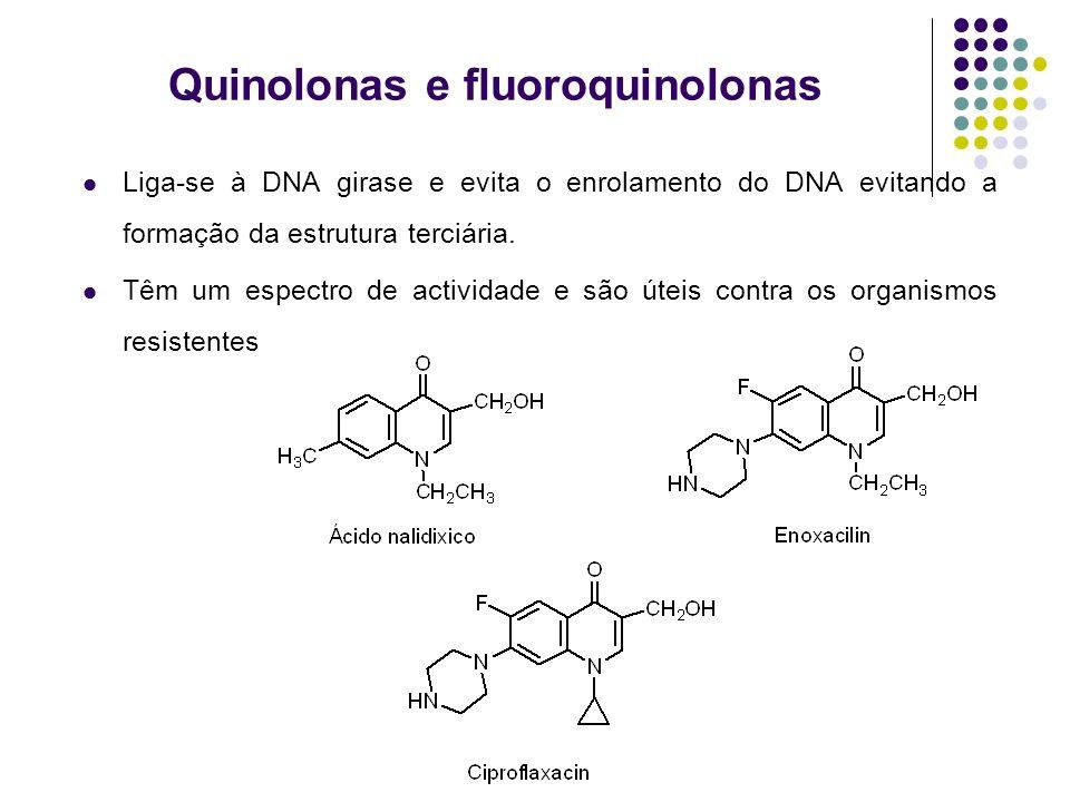 Quinolonas e fluoroquinolonas