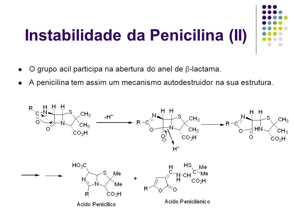 Instabilidade da Penicilina (II)